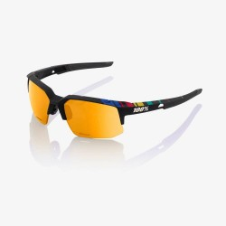 100% Speedcoupe SAGAN edition Soft Tact Black P1 (Gold mirror linse) Cykelbriller