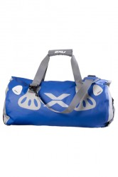 2XU Seamless Waterproof Bag- Blue/Grey