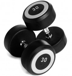 Abilica RubberDumbbell Håndvægte 30kg (1 stk.)