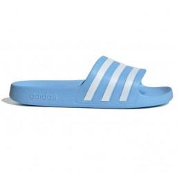 Adidas Adilette Badesandaler Dame, blå