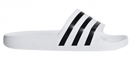 Adidas Adilette Badesandaler, hvid
