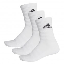 Adidas Cushioned Tennissokker - 3 par, hvid