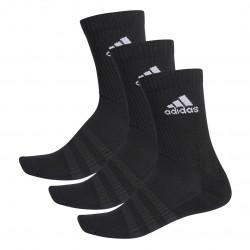 Adidas Cushioned Tennissokker - 3 par, sort