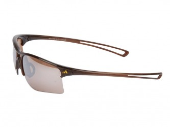 Adidas - Raylor - Løbe- og Cykelbrille - Str. Small- Shiny Brown/Contrast