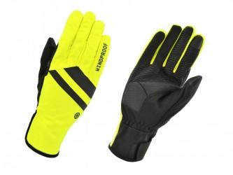 AGU Essential Vindtætte Handsker - Gul Fluo - Str. XL