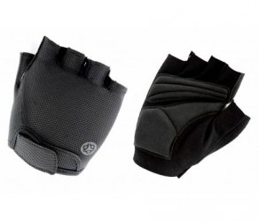 AGU Gloves Essential Super Gel - Cykelhandsker med gel-puder - Sort