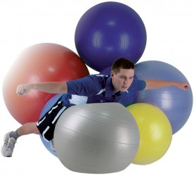 Aserve ABS Gymball Træningsbold 65cm