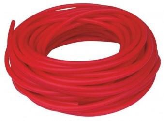 Aserve Latexfri Tubing Træningselastik Medium Rød 30m