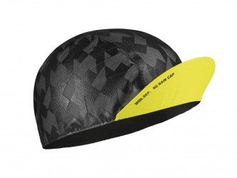Assos Equipe RS Rain Cap - Cykelkasket - Gul - Str. 0