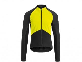 Assos Mille GT Jacket Spring Fall - Cykeljakke - Herre - Sort/gul - Str. XLG