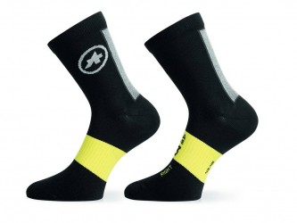 Assos Spring/Fall Socks - Cykelstrømper - Sort - Str. I