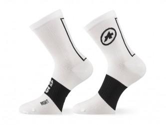 Assos Summer Socks - Cykelstrømper - Hvid - Str. II