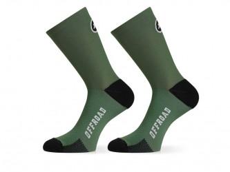 Assos XC Socks - Cykelstrømpe - Grøn - Str. 0