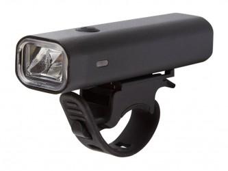 Atredo - Forlygte - 400 Lumen - USB opladelig - Sort