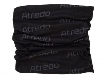 Atredo - Halsedisse - Polyester - Sort med grå logoer