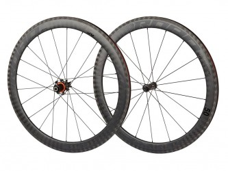 Atredo - Superlight carbon - Hjulsæt - 700C - Road - 50 mm - Clincher - Sort