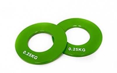 Basic Fitness Olympic steel plate 0,25 kg...