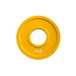 Basic Fitness Olympic steel plate 1 kg...