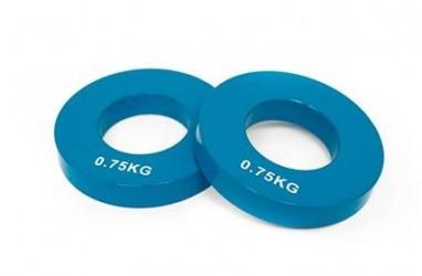 Basic Fitness Vægtskive Olympisk 0,75 kg...