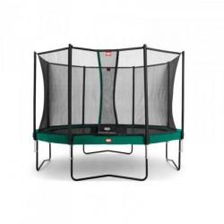 Berg Trampolin Champion inkl. sikkerhedsnet Comfort 380 cm grøn