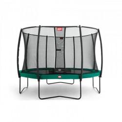 Berg Trampolin Champion inkl. sikkerhedsnet Deluxe 430 cm grøn