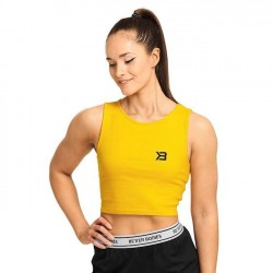 Better Bodies Astoria Laced Tank Yellow