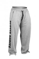 Better Bodies Big Print Sweatpant - Grey Melange