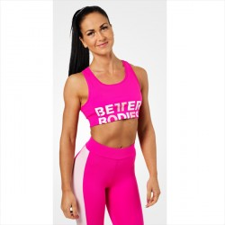 Better Bodies Bowery Bra Hot Pink