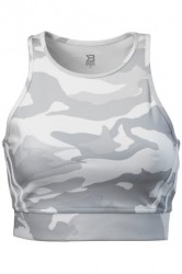 Better Bodies Chelsea Halter White Camo