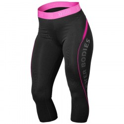 Better Bodies Fitness Curve Capri Black/Pink