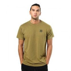 Better Bodies Harlem Oversize Tee, military green, Better Bodies