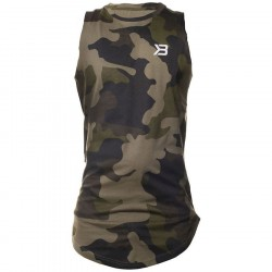 Better Bodies Harlem Tank Military Camo