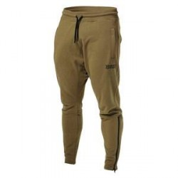 Better Bodies Harlem Zip Pants, military green, Better Bodies