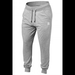 Better Bodies Soft Tapered Pants Grey Melange
