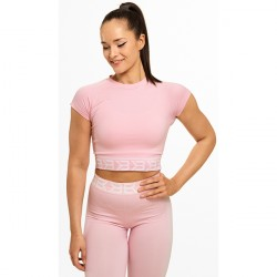 Better Bodies Suger Hill Tee Pale Pink