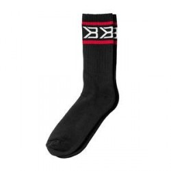 Better Bodies Tribeca Socks 2-Pack, black/red, Better Bodies