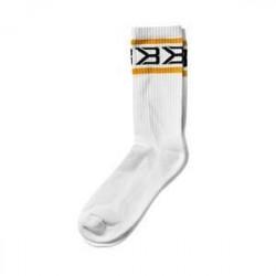 Better Bodies Tribeca Socks 2-Pack, white/yellow, xlarge (42-45)