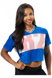 Better Bodies Trinity Tee Strong Blue