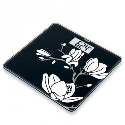 Beurer GS 211 Glasvægt blomster motiv