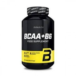 BioTech USA BCAA + B6, 200 tabletter, BioTech USA