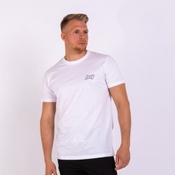 BM Mens Fitted Tee White
