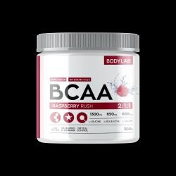 BodyLab BCAA Instant Raspberry Rush (300g)