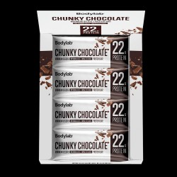 Bodylab Minimum Deluxe Protein Bar (12 x 65 g) - Chunky Chocolate