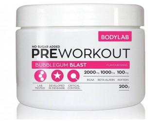 Bodylab Pre Workout 200 gram Bubblegum Blast