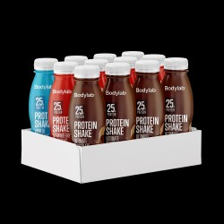 Bodylab Protein Shake (12 x 330 ml) - Mix Box