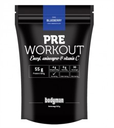 Bodyman Pre Workout Blueberry Limited Edition