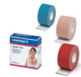 BSN Kinesiologi Tape (2,5cm x 5m) Rød