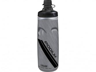 Camelbak Podium Chill MTB - Drikkeflaske 0,62 liter - 100% BPA fri - Grå/Sort