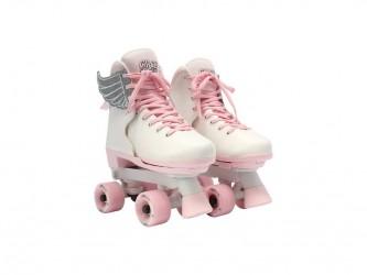 Circle Society Classic - Justérbar rulleskøjte - Str. 34-39 - Pink Vanilla