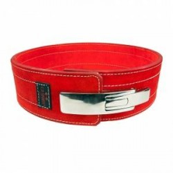 C.P. Sports Powerlifting Lever Belt, red, C.P. Sports